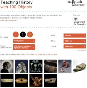 teachinghist100objects