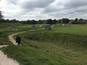 Avebury stone circle and henge